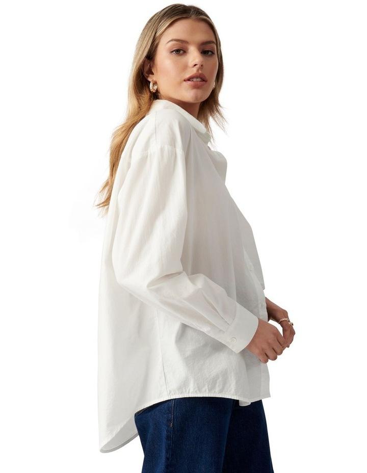 Denver Oversized Cotton Shirt image 3