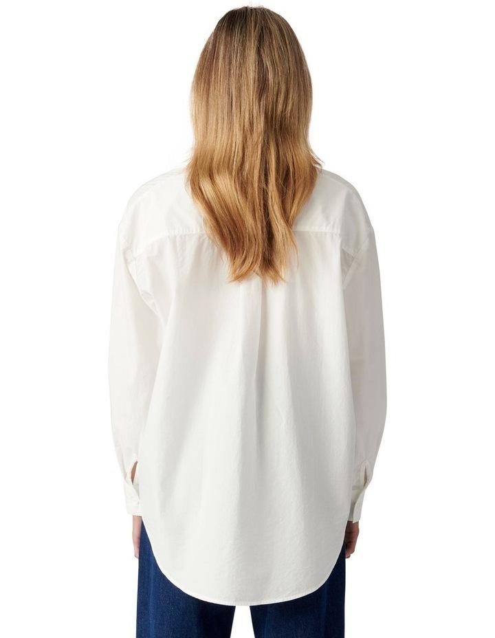 Denver Oversized Cotton Shirt image 4