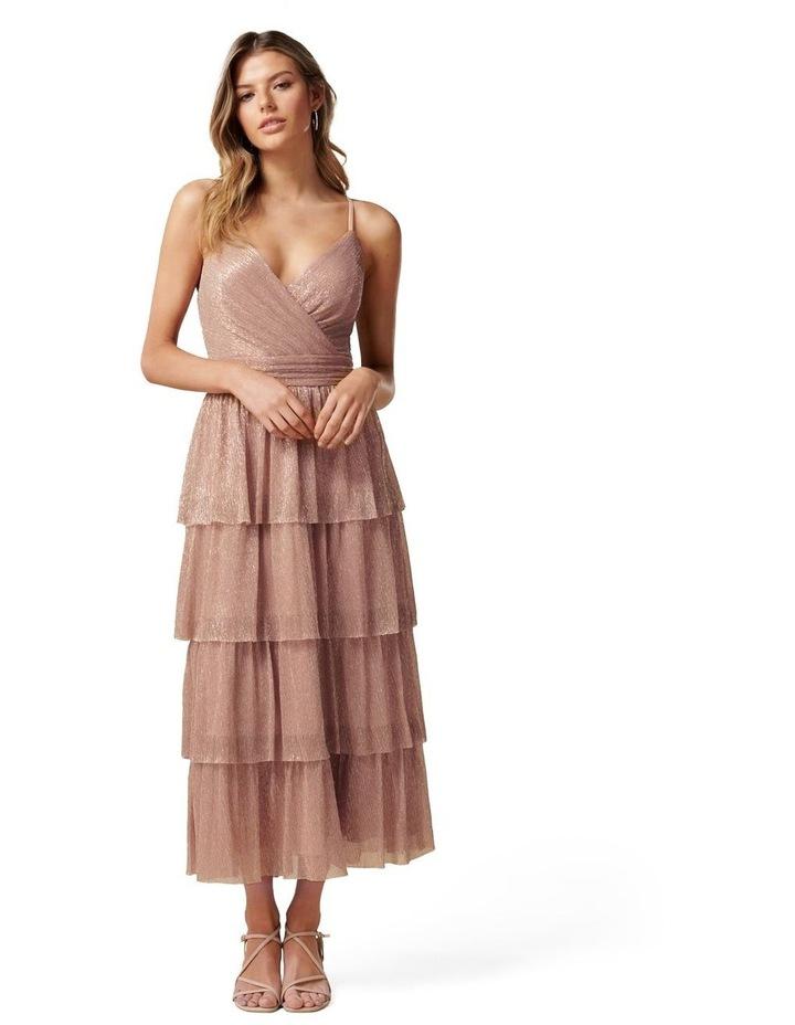 Miley Plisse Tiered Dress image 1