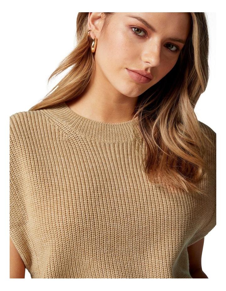 Erin Extended Shoulder Knit Tank image 2