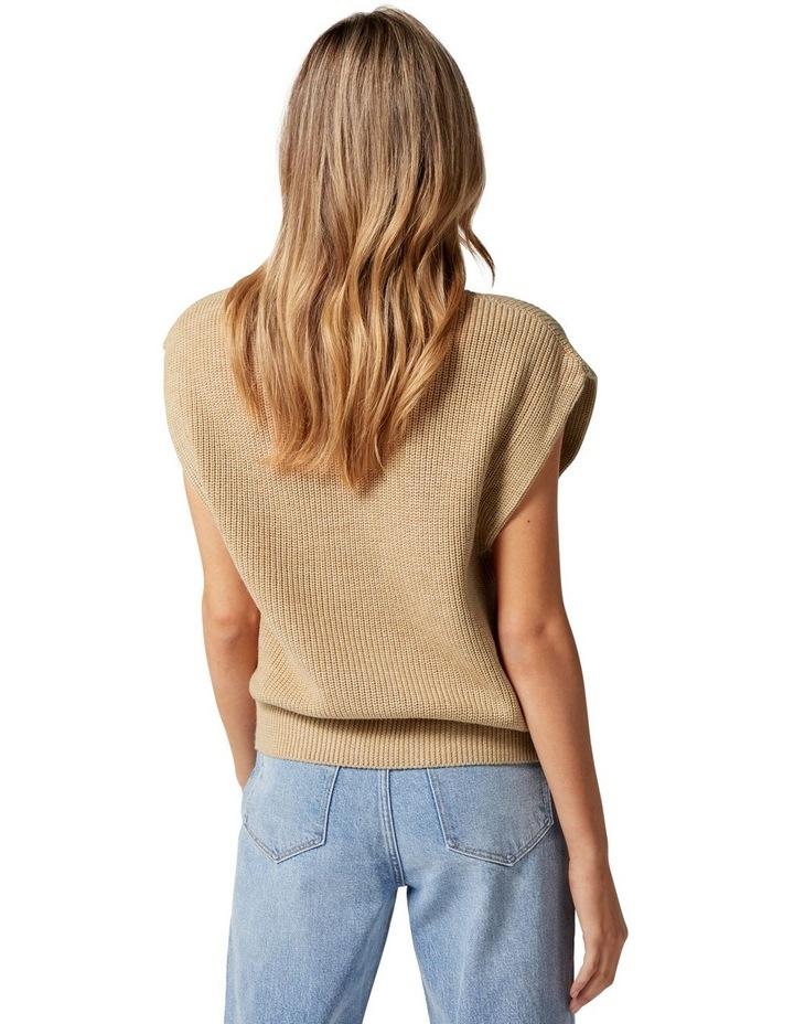 Erin Extended Shoulder Knit Tank image 4
