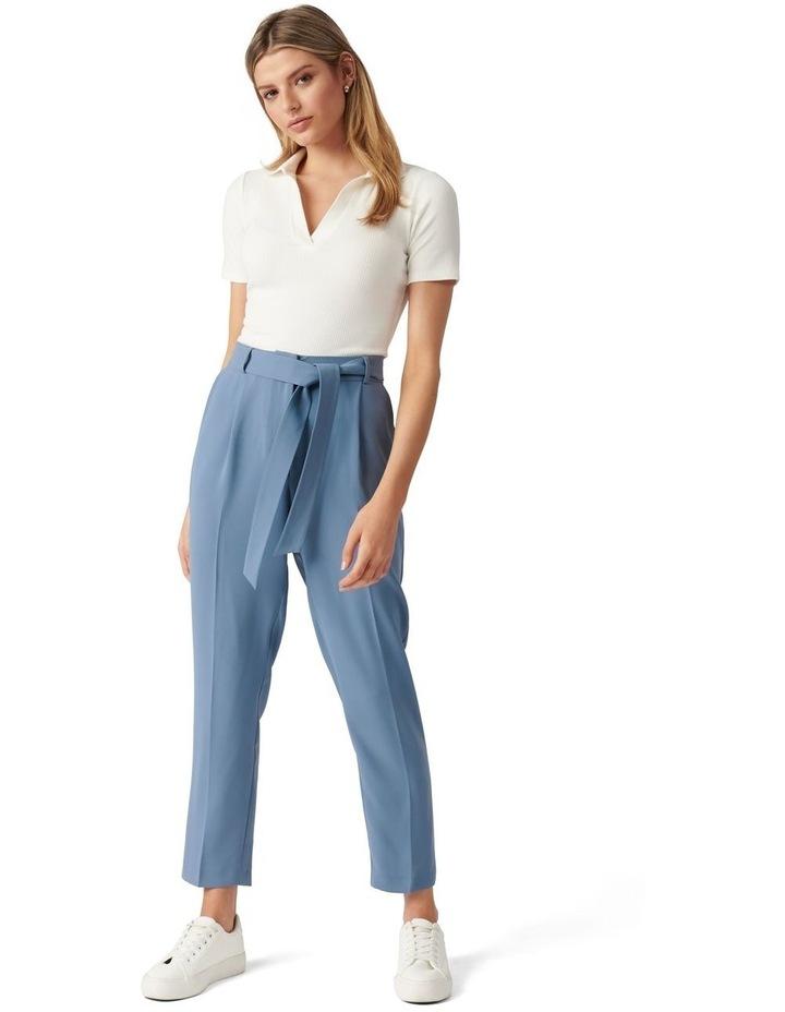 Sadie Tie Waist Slim Pants image 5