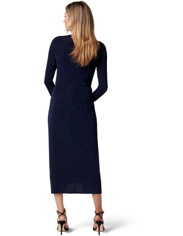 Marissa Jersey Ruched Midi Dress image 4