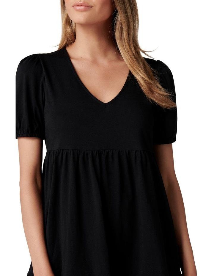 Brooke Mini Jersey Dress Black image 2