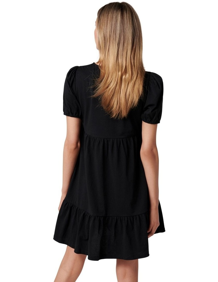 Brooke Mini Jersey Dress Black image 4