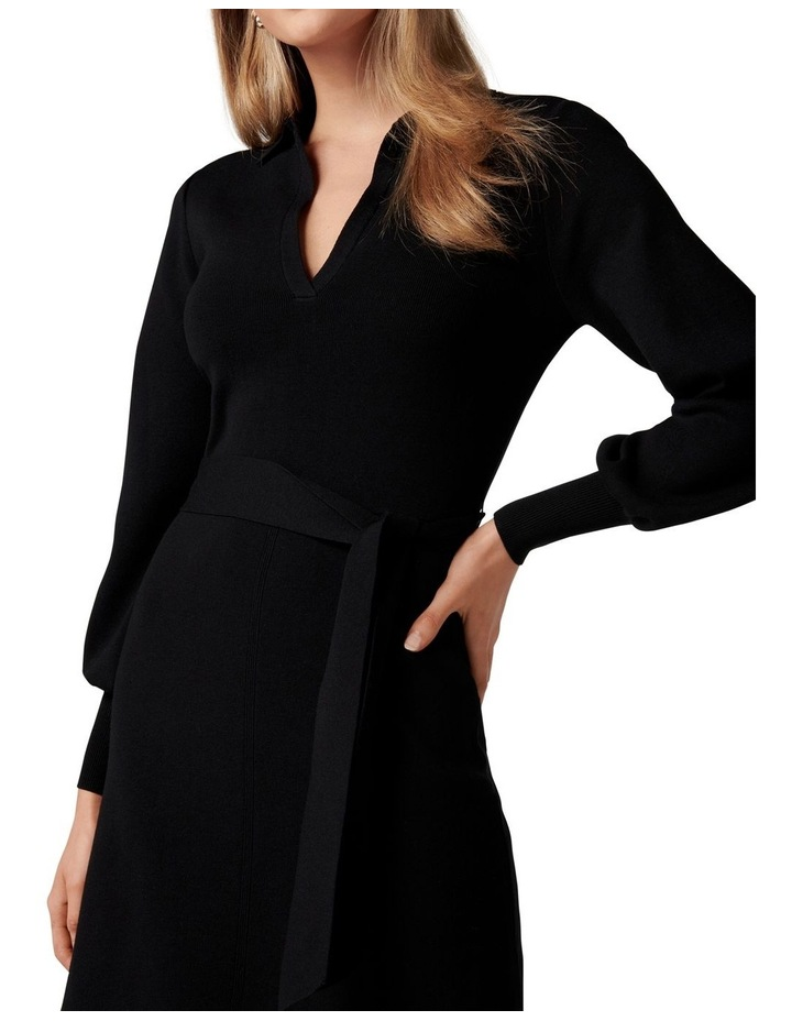 Olivia Fit and Flare Knit Dress image 2