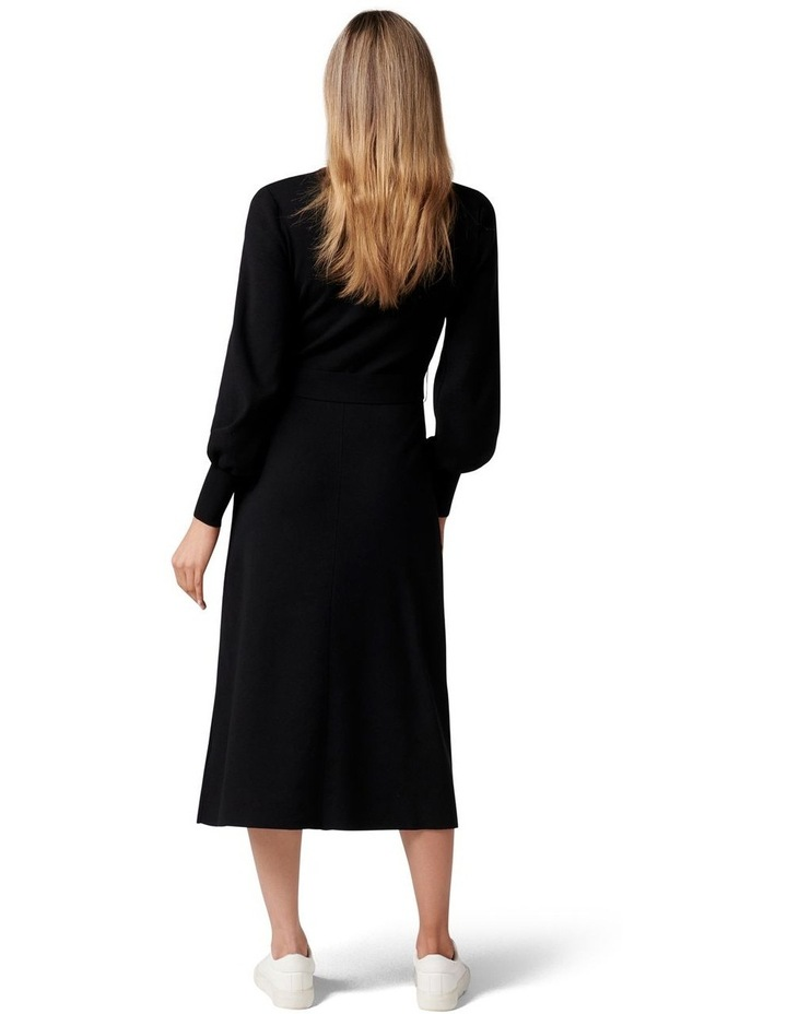 Olivia Fit and Flare Knit Dress image 4