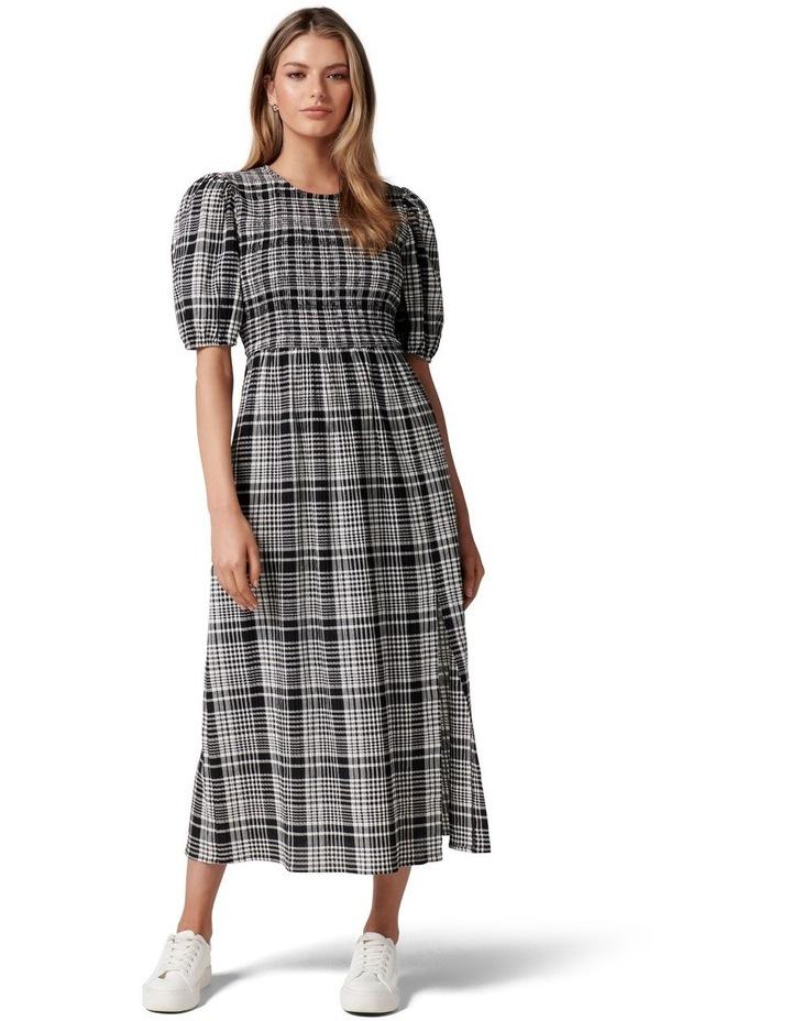 Dakota Check Midi Dress image 1