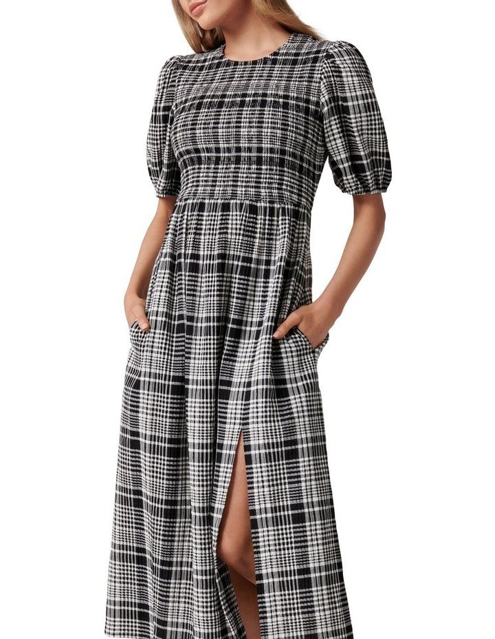 Dakota Check Midi Dress image 2