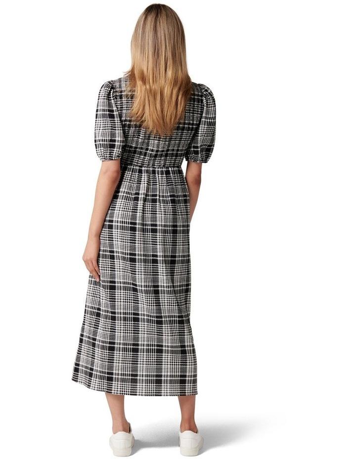 Dakota Check Midi Dress image 4