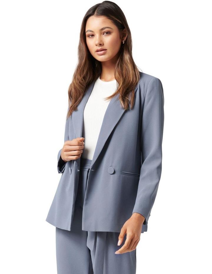 Penny Oversized Blazer Petites Workwear Blue image 1