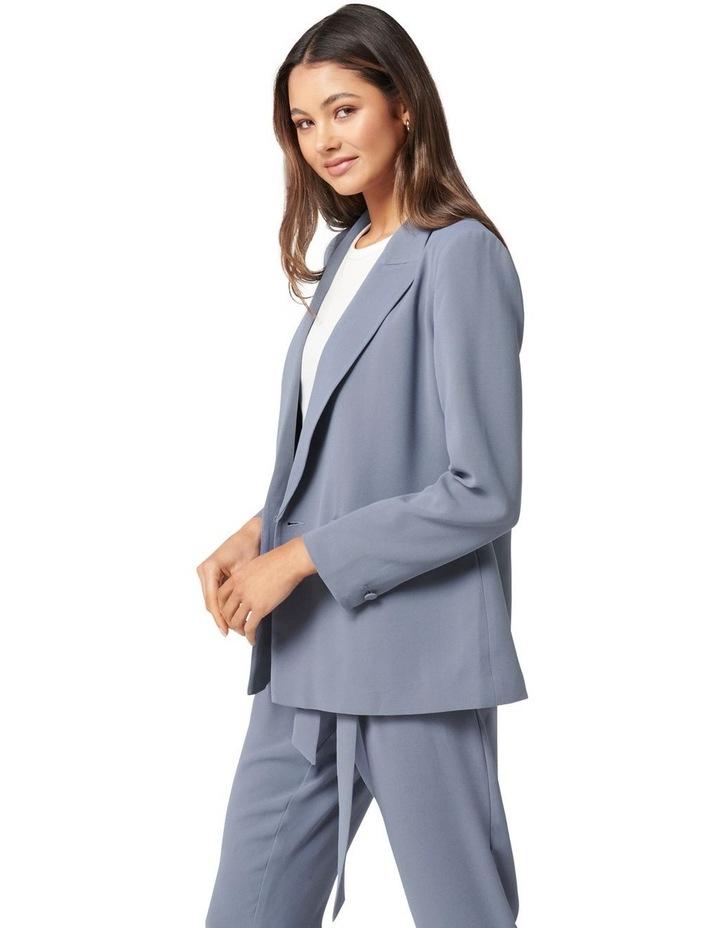 Penny Oversized Blazer Petites Workwear Blue image 3