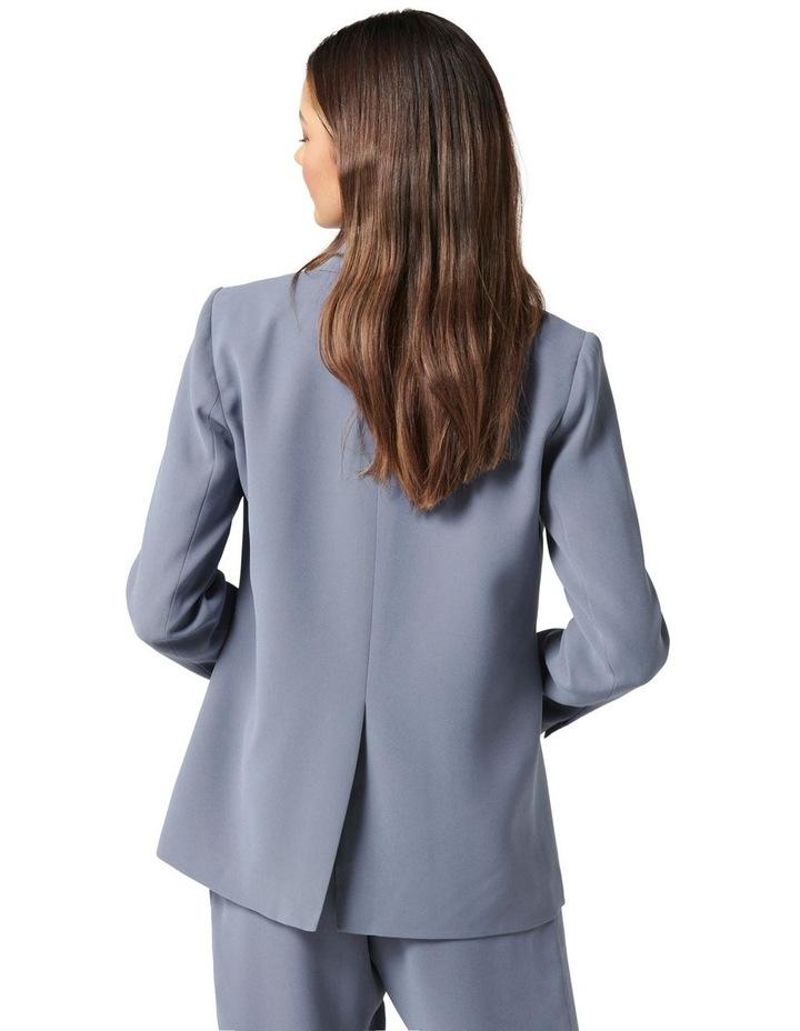 Penny Oversized Blazer Petites Workwear Blue image 4