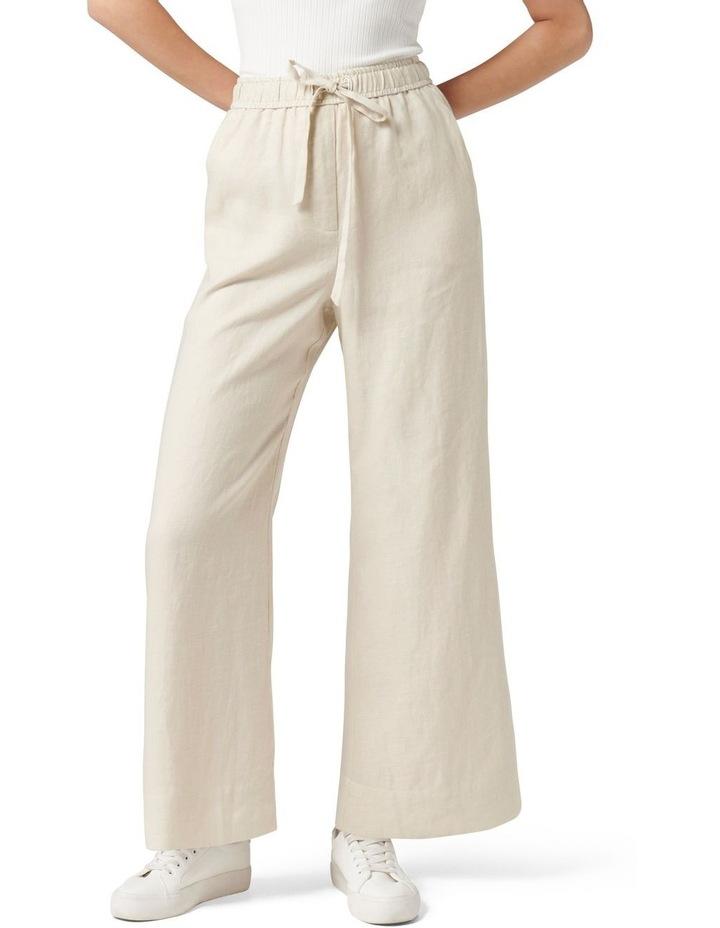 Ruby Linen Wide Leg Pants image 1