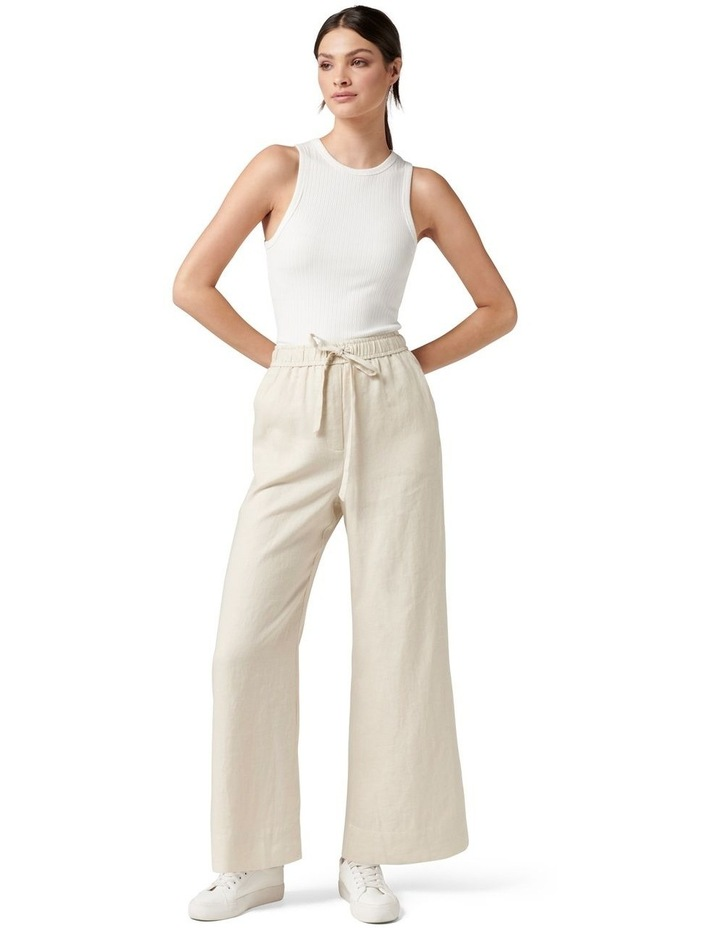 Ruby Linen Wide Leg Pants image 5