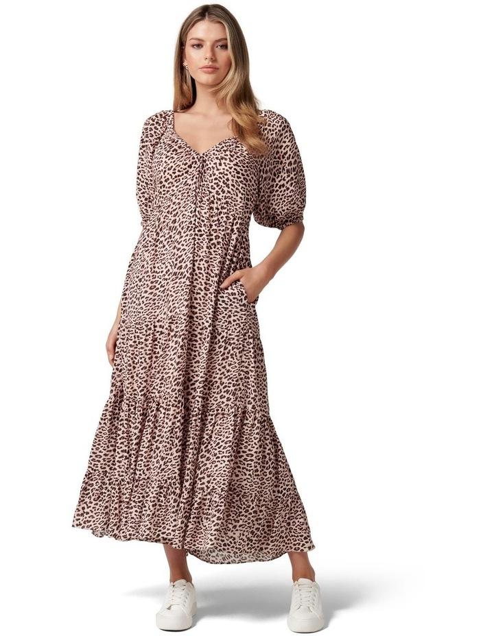 Kourtney Tiered Midi Dress image 1