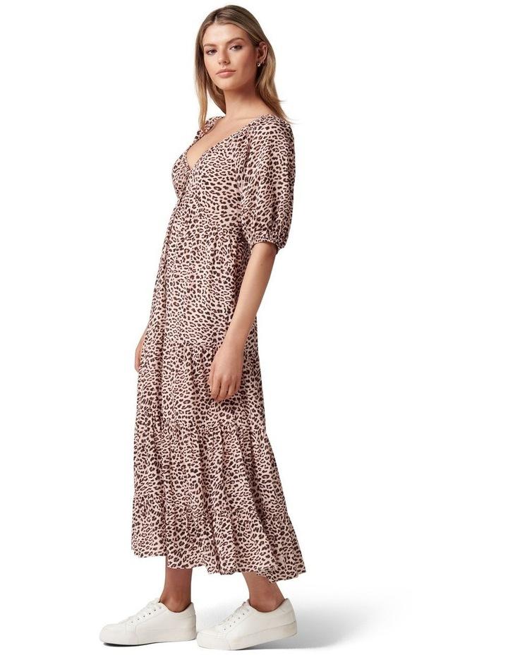 Kourtney Tiered Midi Dress image 3