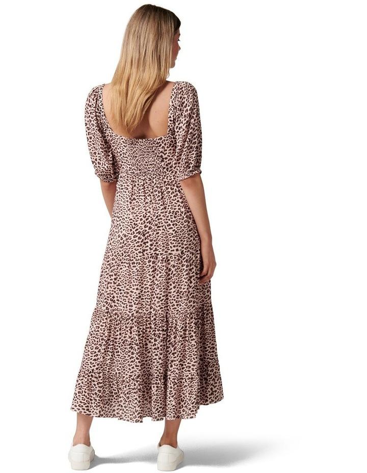 Kourtney Tiered Midi Dress image 4