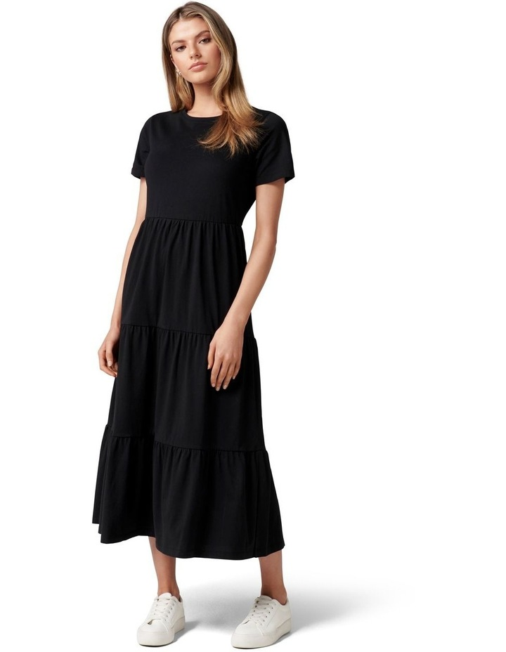 Elodie Jersey Midi Dress image 1