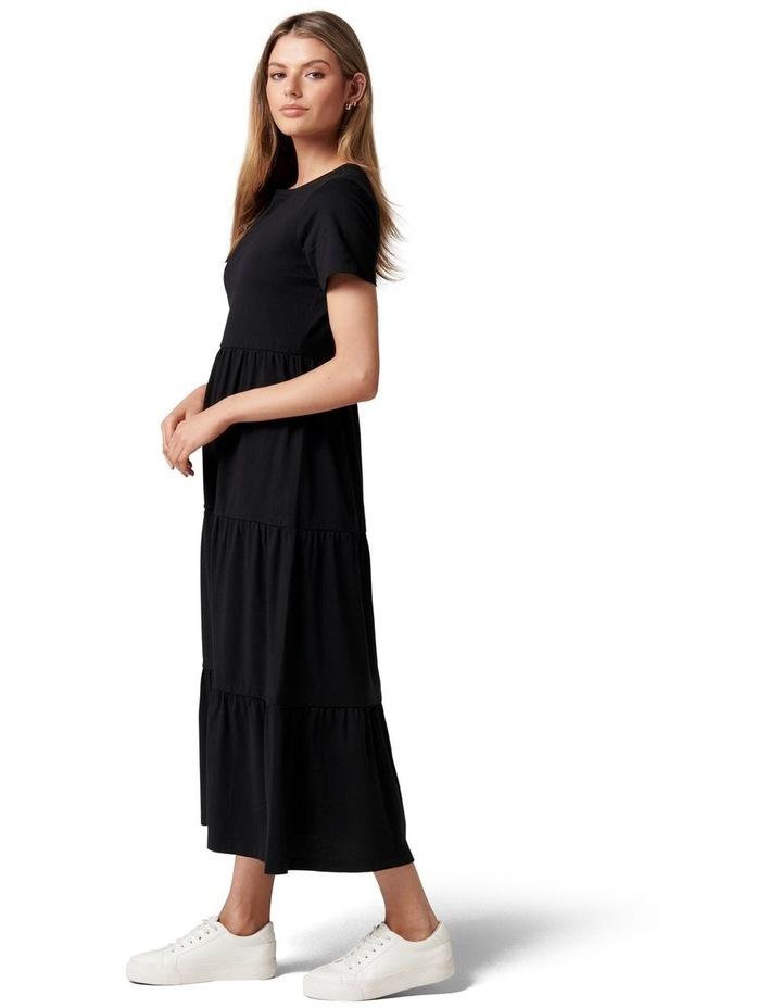 Elodie Jersey Midi Dress image 3