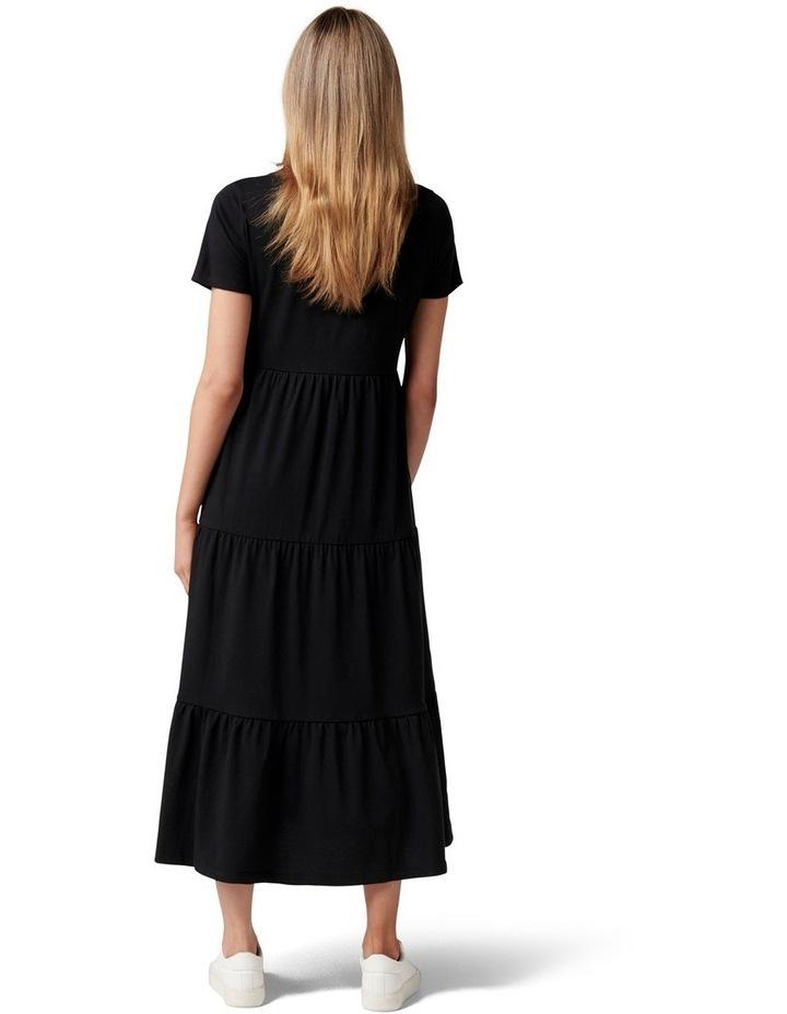 Elodie Jersey Midi Dress image 4
