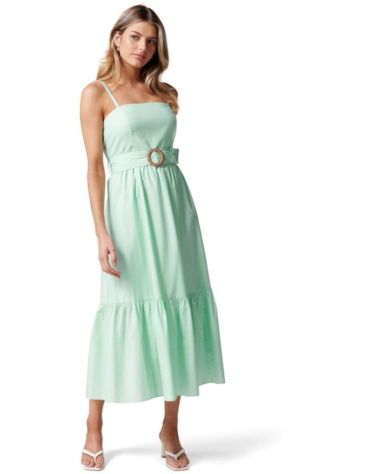 London Tiered Midi Dress Mint Tint image 1