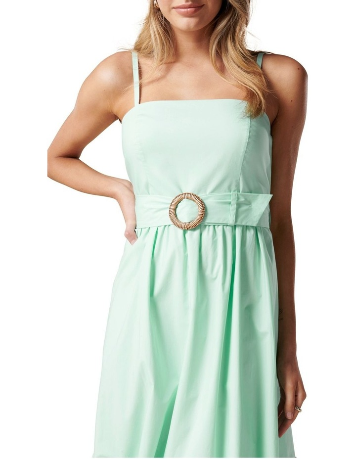 London Tiered Midi Dress Mint Tint image 2