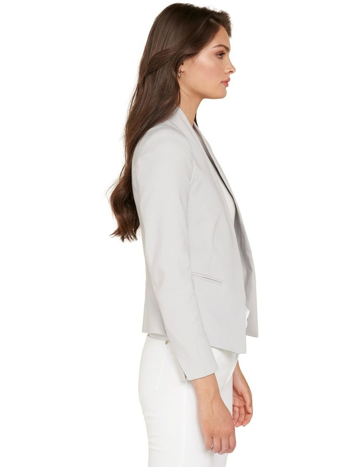 Alice Fitted Blazer Dove Grey image 2