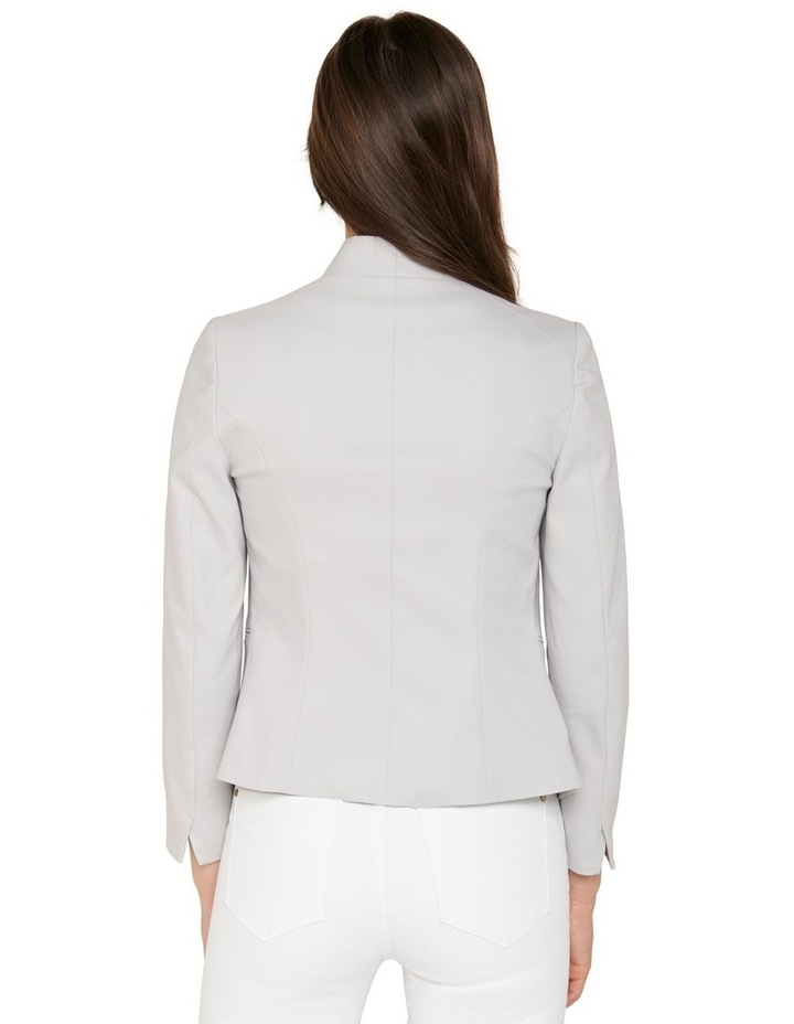 Alice Fitted Blazer Dove Grey image 3