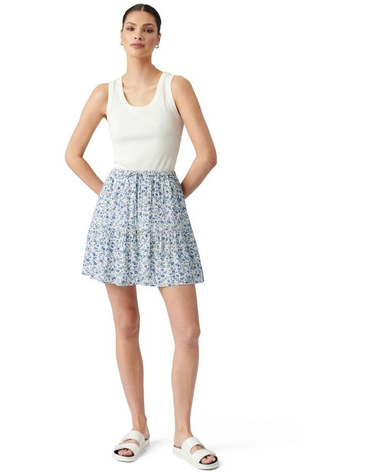 Mikayla Flippy Ditsy Skirt Small Montebello Ditsy image 5