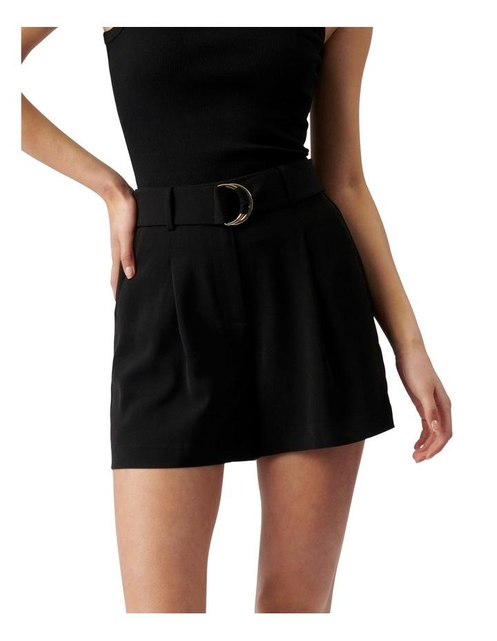 Belinda Belted Suit Shorts Black image 1