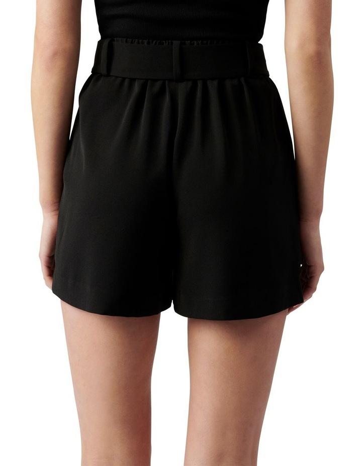 Belinda Belted Suit Shorts Black image 4