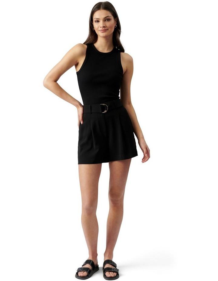 Belinda Belted Suit Shorts Black image 5