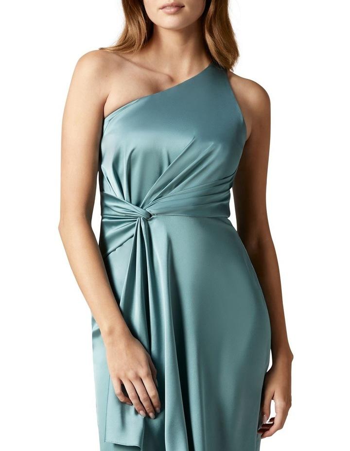 Haidee Petite One Shoulder Midi Dress image 2