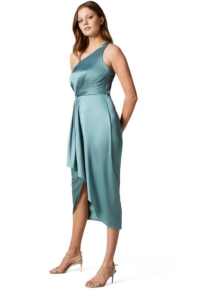 Haidee Petite One Shoulder Midi Dress image 3