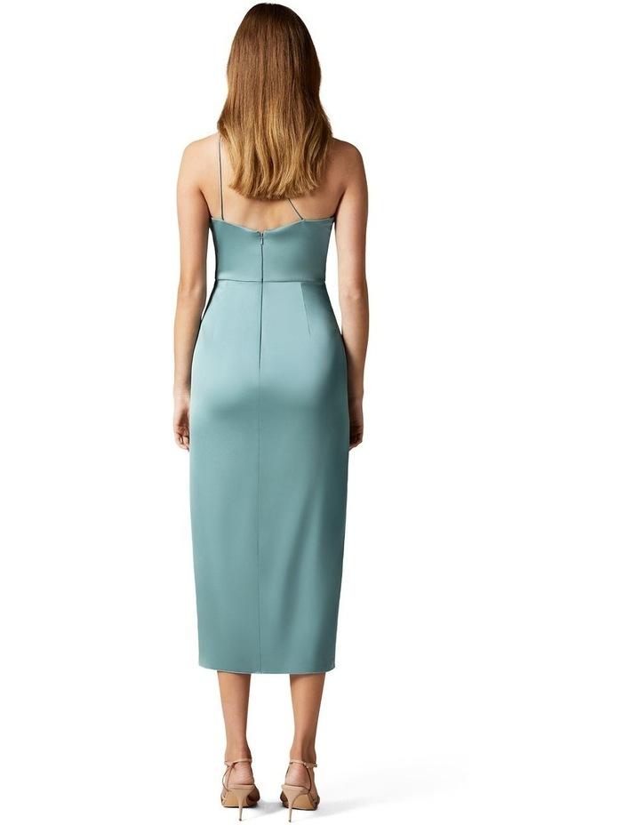 Haidee Petite One Shoulder Midi Dress image 4
