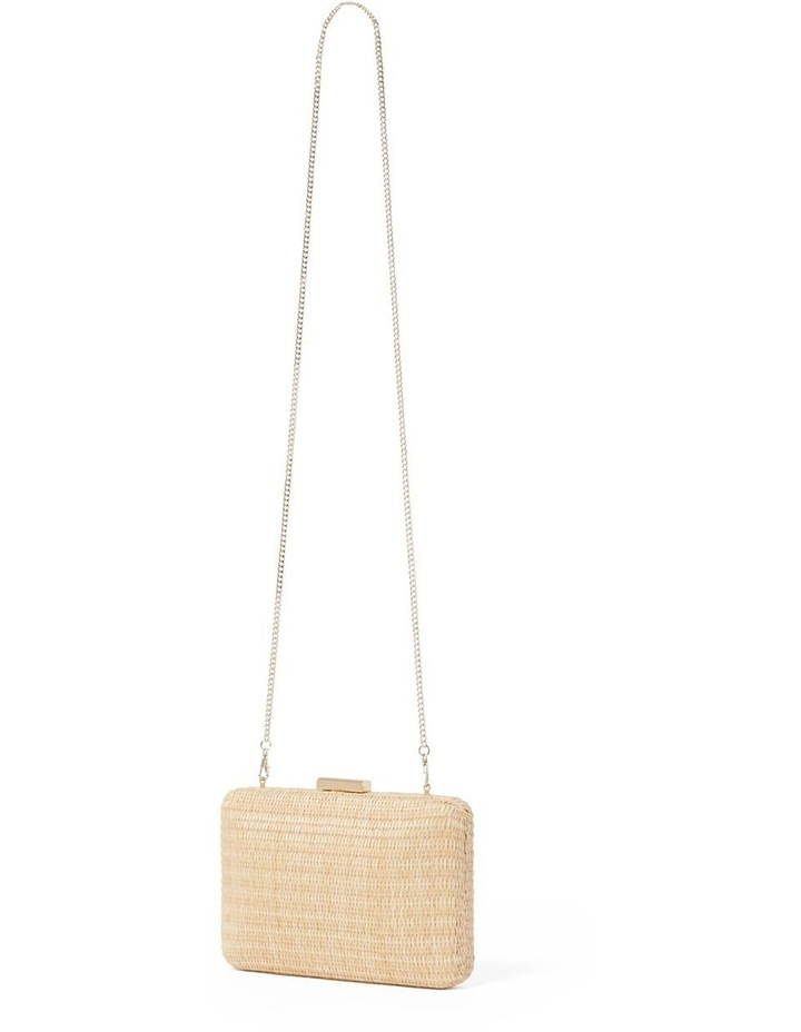Lily Woven Clutch Straw image 2