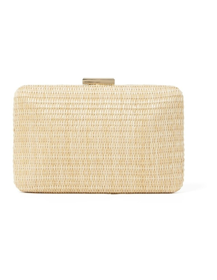 Lily Woven Clutch Straw image 3