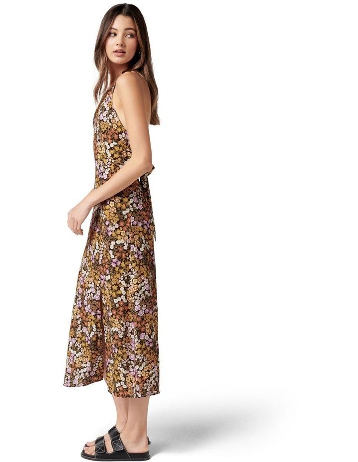 Rory Printed Halter Midi Dress Ashwick Ditsy image 3