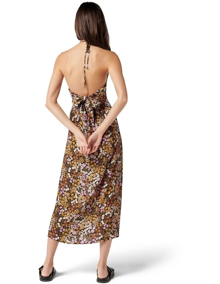 Rory Printed Halter Midi Dress Ashwick Ditsy image 4