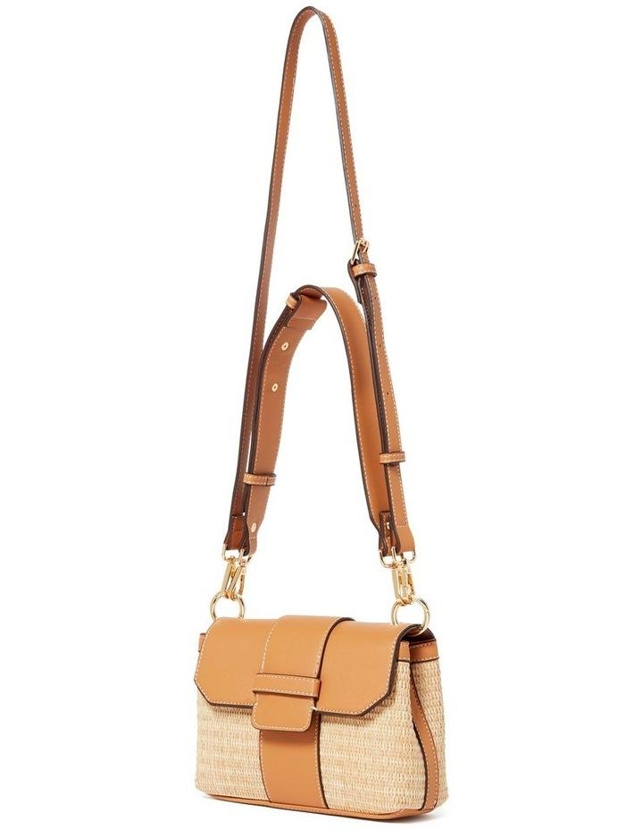 Freda Crossbody Bag Straw Camel image 2