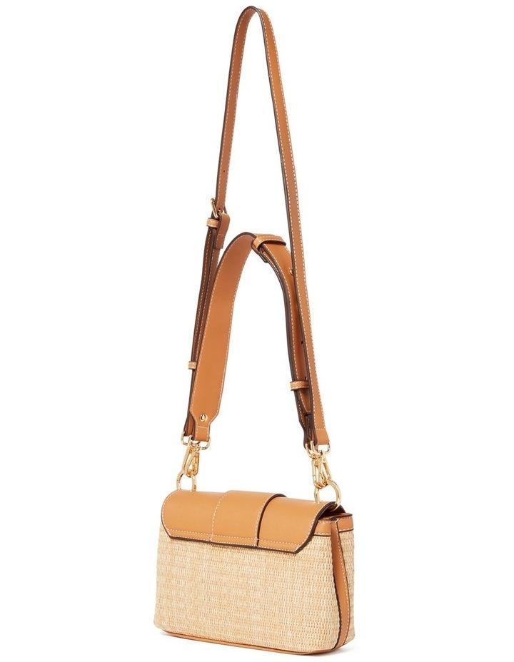 Freda Crossbody Bag Straw Camel image 3