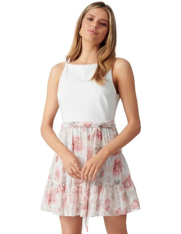 Noa 2 in 1 Petite Mini Dress Blush Maison Floral image 1