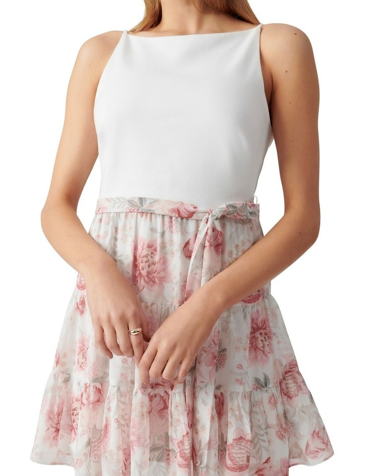 Noa 2 in 1 Petite Mini Dress Blush Maison Floral image 2