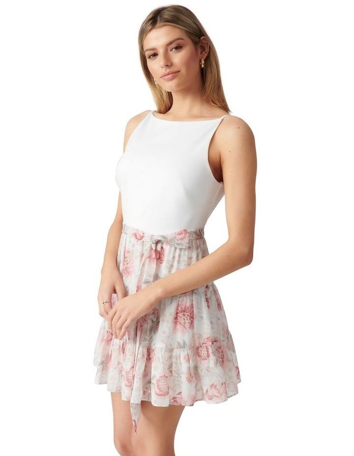 Noa 2 in 1 Petite Mini Dress Blush Maison Floral image 3