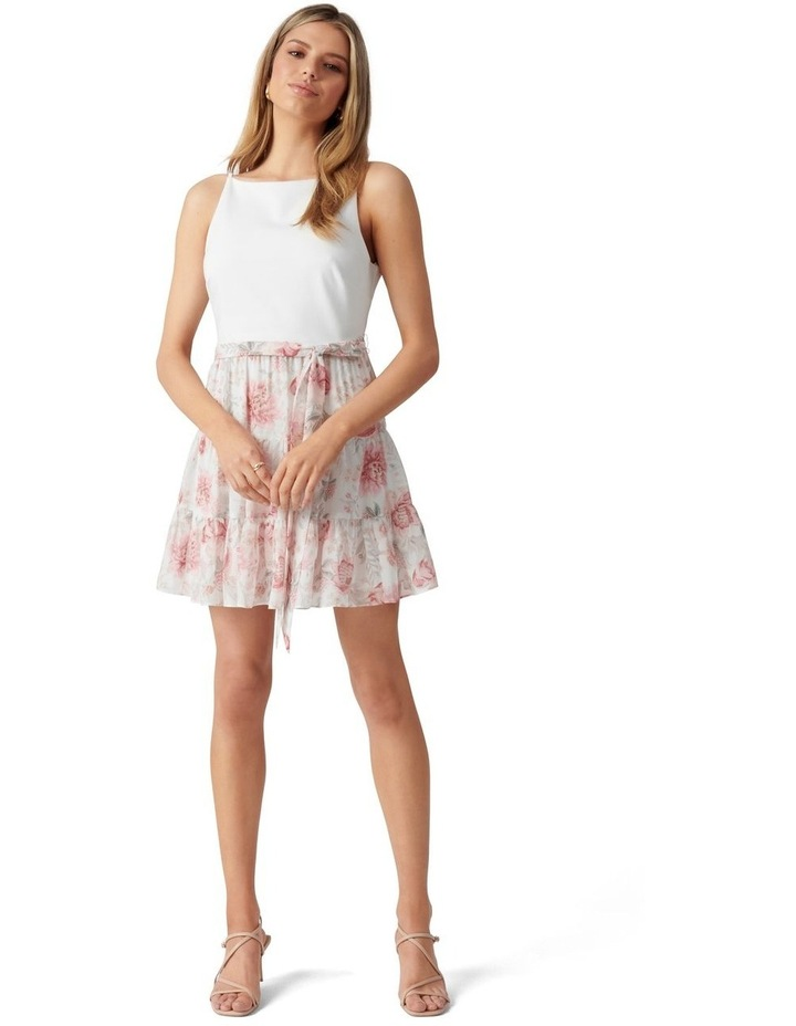 Noa 2 in 1 Petite Mini Dress Blush Maison Floral image 5