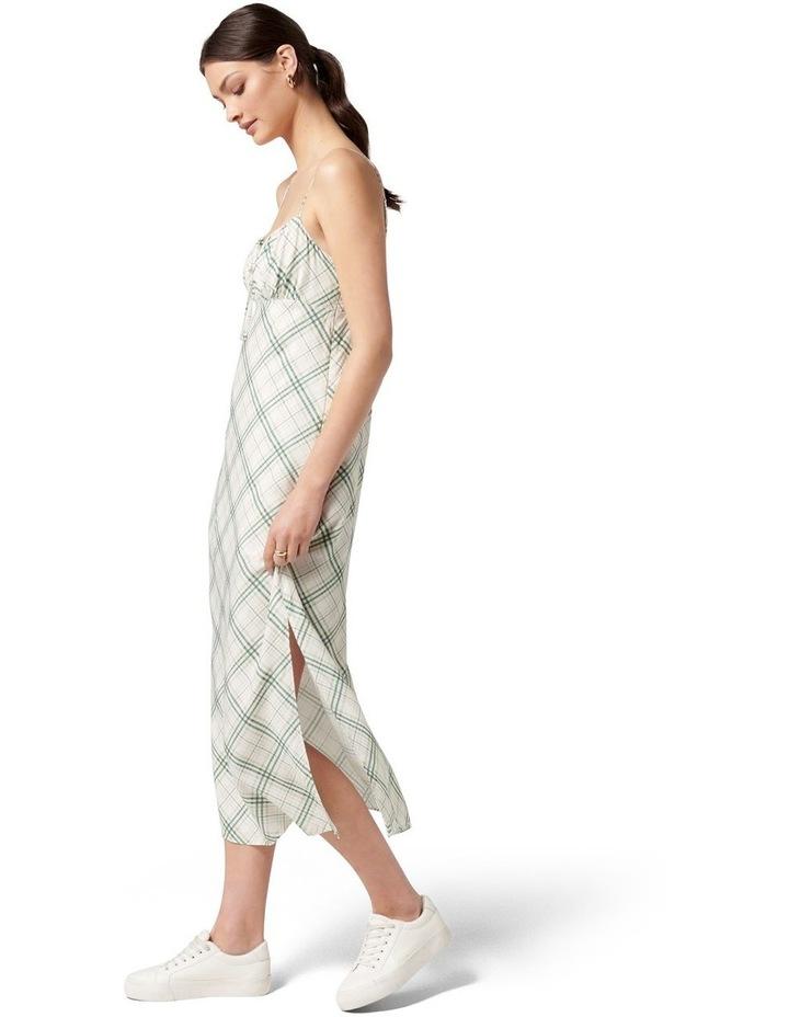 Hayden Midi Slip Dress Jade Check image 3