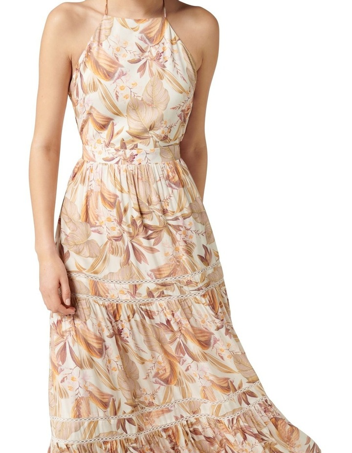 Adrianna Halter Maxi Dress Porcelain Palm Springs image 2