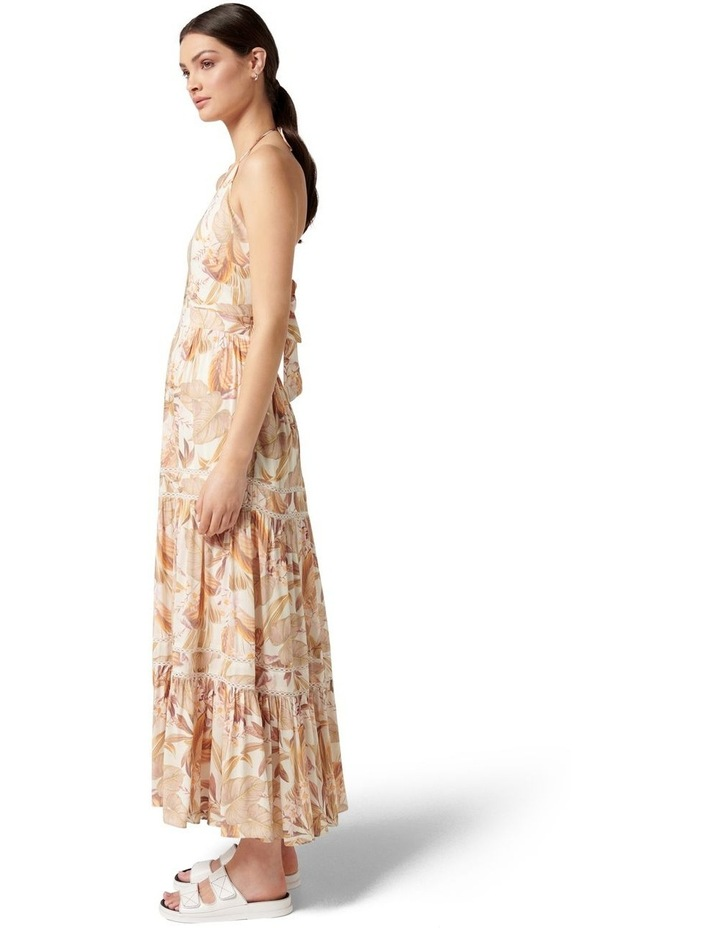 Adrianna Halter Maxi Dress Porcelain Palm Springs image 3