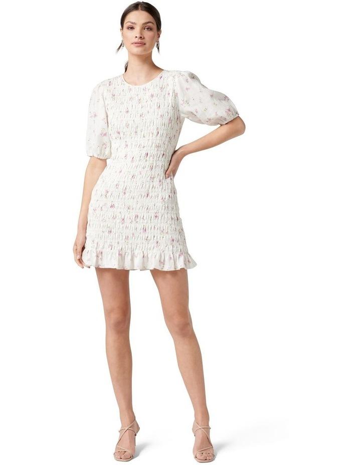 Alexa Shirred Mini Dress Alma Ditsy image 5